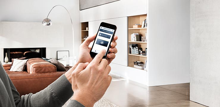 Smart-Home Bedienung per Smartphone